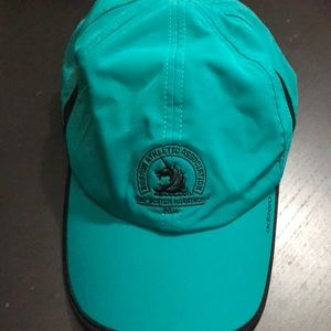 Boston marathon Adidas running hat